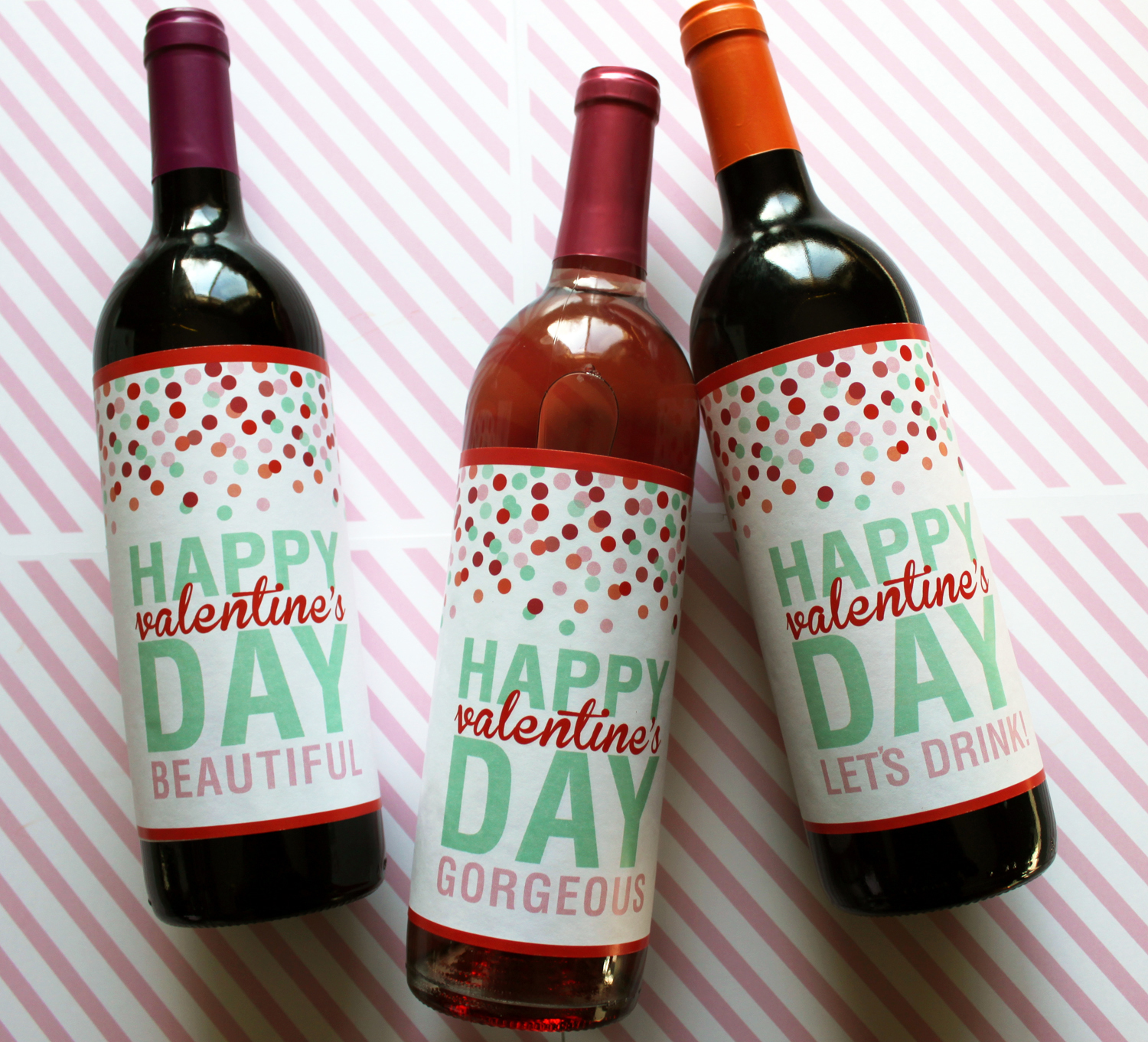 free printable wine labels | just add ginger