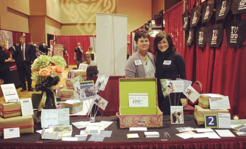 Jill Conlon and Gina Peterson of Ginger P Designs