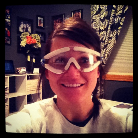 lasik eye surgery goggles