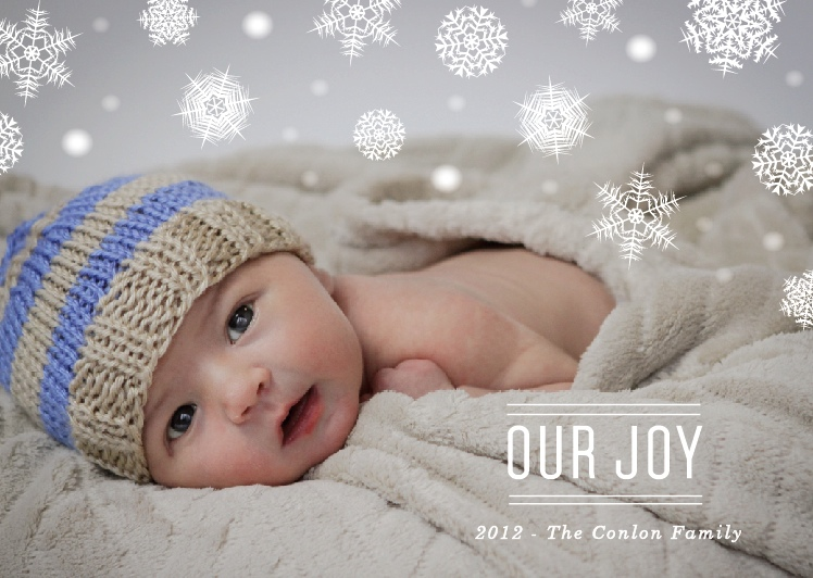 GENO birth announcement holiday card