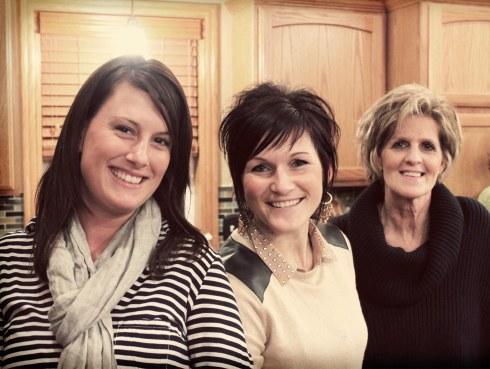 Jess, Gina, Sharon