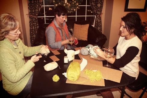 Julie, Mom, Kris