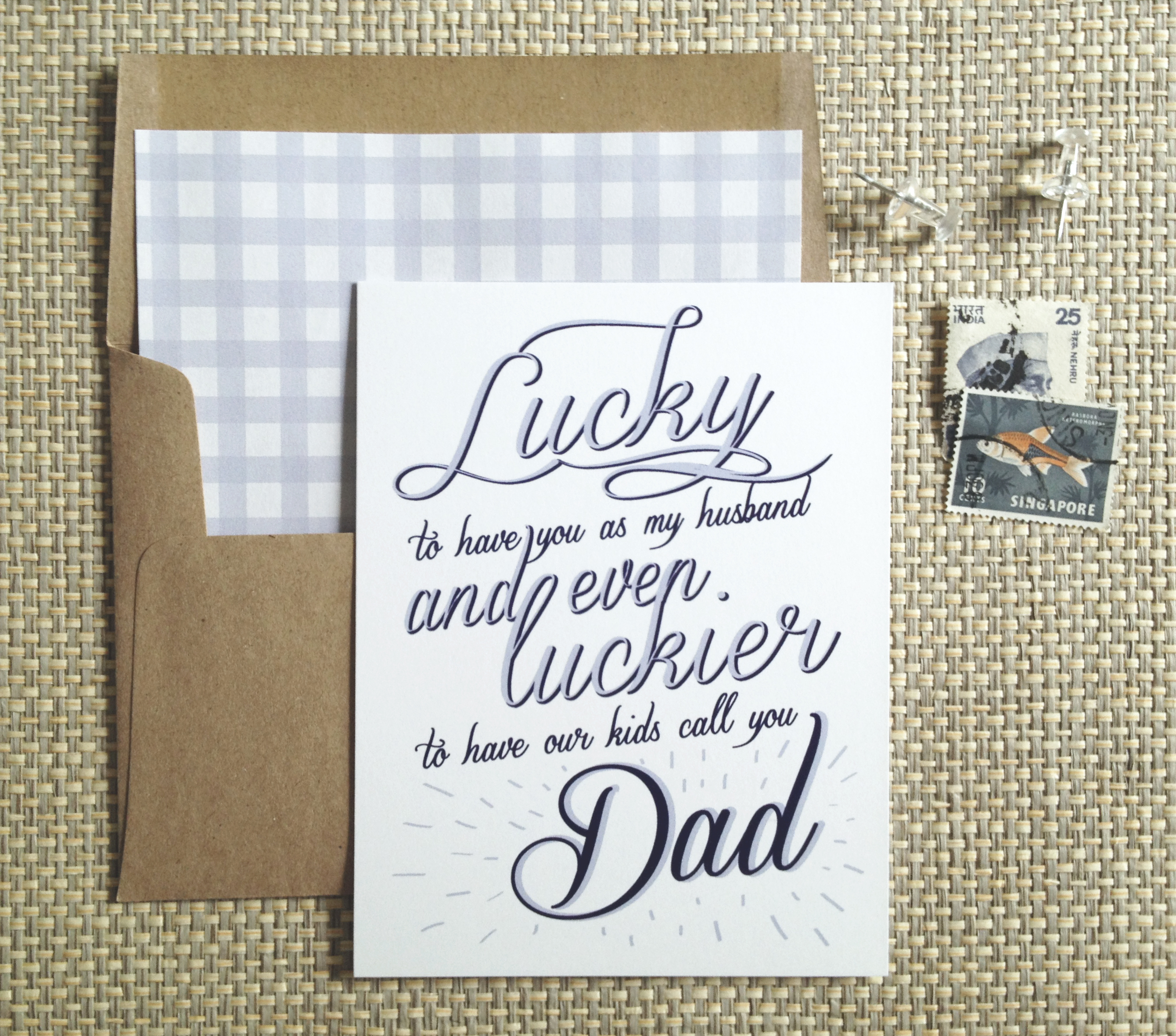 father u0027s day cards just add ginger