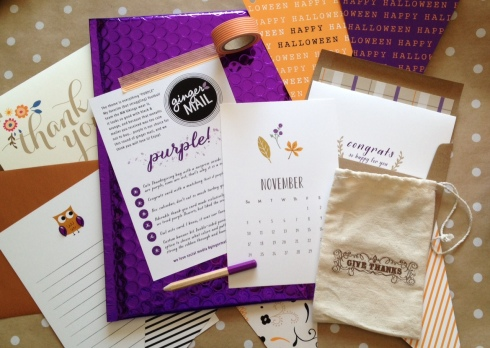 Purple Ginger Mail