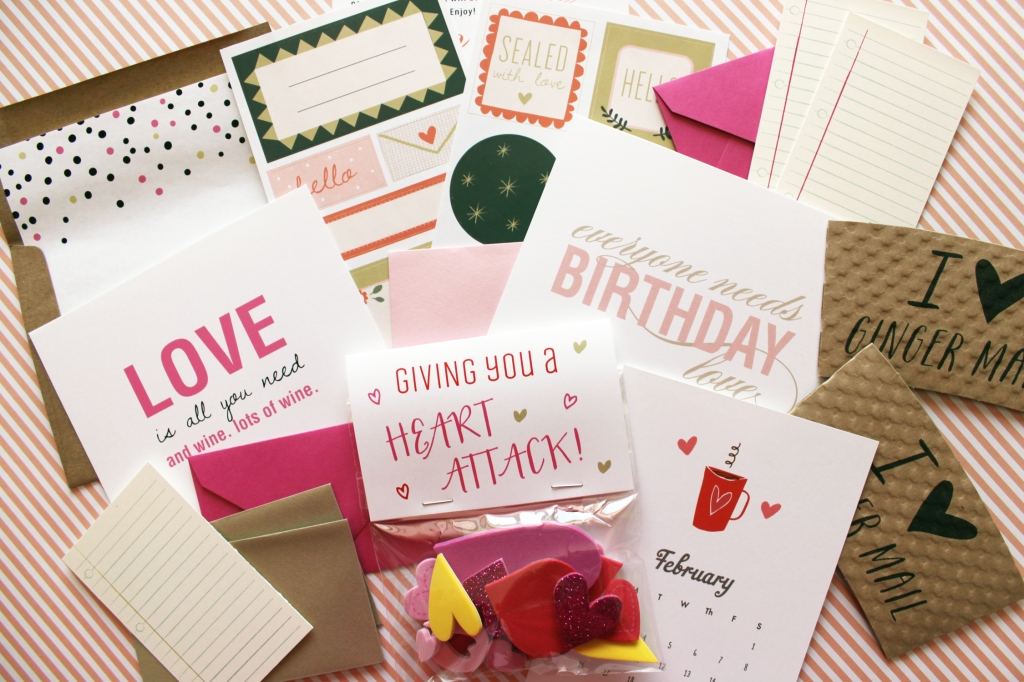 Valentine's Day Ginger Mail